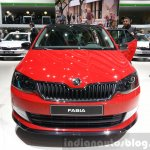 Skoda Fabia Monte Carlo Edition front view at the 2015 Geneva Motor Show