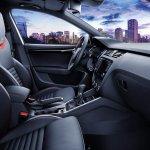 Skoda Octavia RS 230 interior press shot