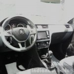 Skoda Rapid Combi limited Edition dashboard at the 2015 Geneva Motor Show
