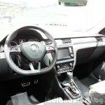 Skoda Rapid Combi lmited Edition dashboard(2) at the 2015 Geneva Motor Show