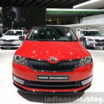 Skoda Rapid Combi lmited Edition front(2) view at the 2015 Geneva Motor Show