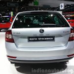 Skoda Rapid Combi limited Edition rear view at the 2015 Geneva Motor Show