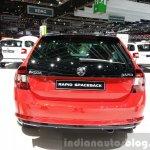 Skoda Rapid Combi lmited Edition rear(2) view at the 2015 Geneva Motor Show