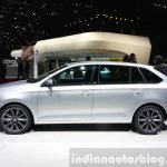 Skoda Rapid Combi limited Edition side view at the 2015 Geneva Motor Show