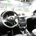 Skoda Yeti lmited Edition dashboard view at the 2015 Geneva Motor Show
