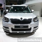 Skoda Yeti lmited Edition front view at the 2015 Geneva Motor Show