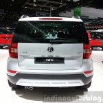 Skoda Yeti lmited Edition rear view at the 2015 Geneva Motor Show