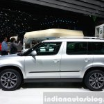 Skoda Yeti lmited Edition side view at the 2015 Geneva Motor Show