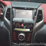 Ssangyong Tivoli center console at 2015 Geneva Motor Show