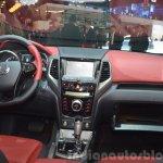 Ssangyong Tivoli dashboard at 2015 Geneva Motor Show