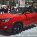 Ssangyong Tivoli front three quarter view at 2015 Geneva Motor Show