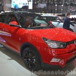 Ssangyong Tivoli front three quarter(2) view at 2015 Geneva Motor Show