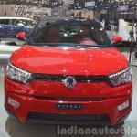 Ssangyong Tivoli front view at 2015 Geneva Motor Show
