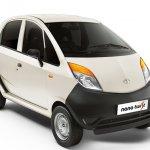 Tata Nano Twist XE front three quarter white