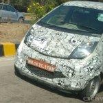 Tata Nano facelift bumper spied