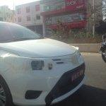 Toyota Vios India test mule headlamp spotted in Bengaluru
