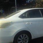 Toyota Vios India test mule rear window spotted in Bengaluru