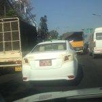 Toyota Vios India test mule spotted in Bengaluru