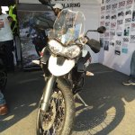 Triumph Tiger XCx At India Bike Week 2015 Front 2