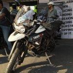 Triumph Tiger XCx At India Bike Week 2015 Front Left Three Quarters