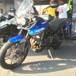 Triumph Tiger XRx At India Bike Week 2015 Front Right Three Quarters 1