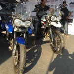 Triumph Tiger XRx At India Bike Week 2015 Front