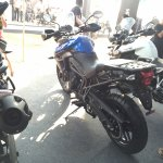 Triumph Tiger XRx At India Bike Week 2015 Left Rear Three Quarters