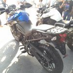 Triumph Tiger XRx At India Bike Week 2015 Left rear three quarters 1