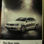 VW Jetta facelift India brochure