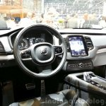 Volvo XC90 R-Design dashboard at the 2015 Geneva Motor Show