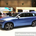 Volvo XC90 R-Design side view at the 2015 Geneva Motor Show