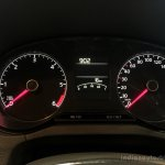 2014 VW Vento instruments Highline variant