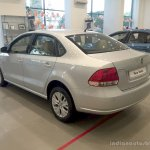 2014 VW Vento rear three quarter left Highline variant