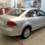 2014 VW Vento rear three quarter right Highline variant