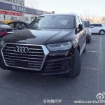 2015 Audi Q7 front spotted in China