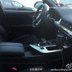 2015 Audi Q7 interior spotted in China
