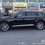 2015 Audi Q7 side spotted in China