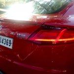 2015 Audi TT 45TFSI taillight India spec