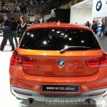 2015 BMW 1 series rear view at 2015 Geneva Motow Show