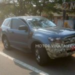 2015 Ford Endeavour spotted testing near Chennai, India