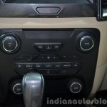 2015 Ford Everest aircon controls (2015 Ford Endeavour) at the 2015 Bangkok Motor Show