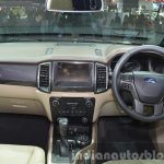 2015 Ford Everest dashboard (2015 Ford Endeavour) at the 2015 Bangkok Motor Show