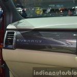 2015 Ford Everest dashboard left (2015 Ford Endeavour) at the 2015 Bangkok Motor Show