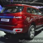 2015 Ford Everest rear three quarter right (2015 Ford Endeavour) at the 2015 Bangkok Motor Show