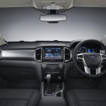 2015 Ford Ranger dashboard press shot