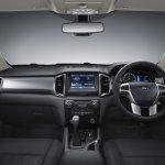 2015 Ford Ranger dashboard press shot