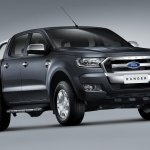 2015 Ford Ranger front three quarters press shot