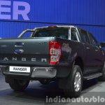 2015 Ford Ranger rear three quarter view at the 2015 Bangkok Motor Show
