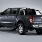 2015 Ford Ranger rear three quarters left press shot