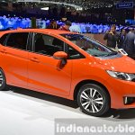 2015 Honda Jazz front three quarter view at 2015 Geneva Motor Show